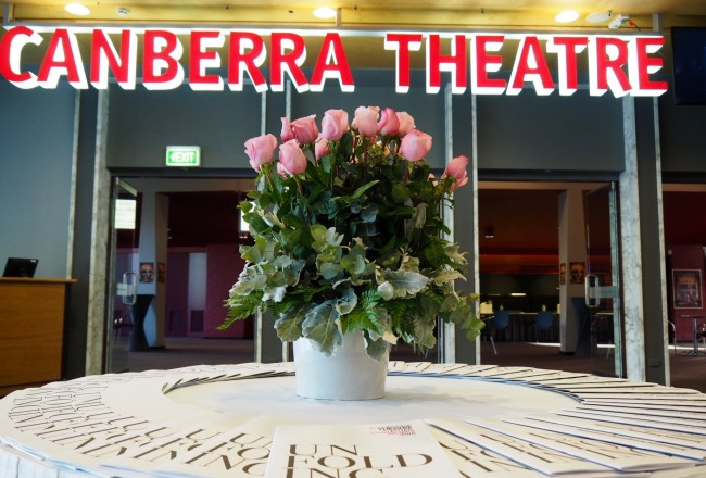 Canberra Theatre sign