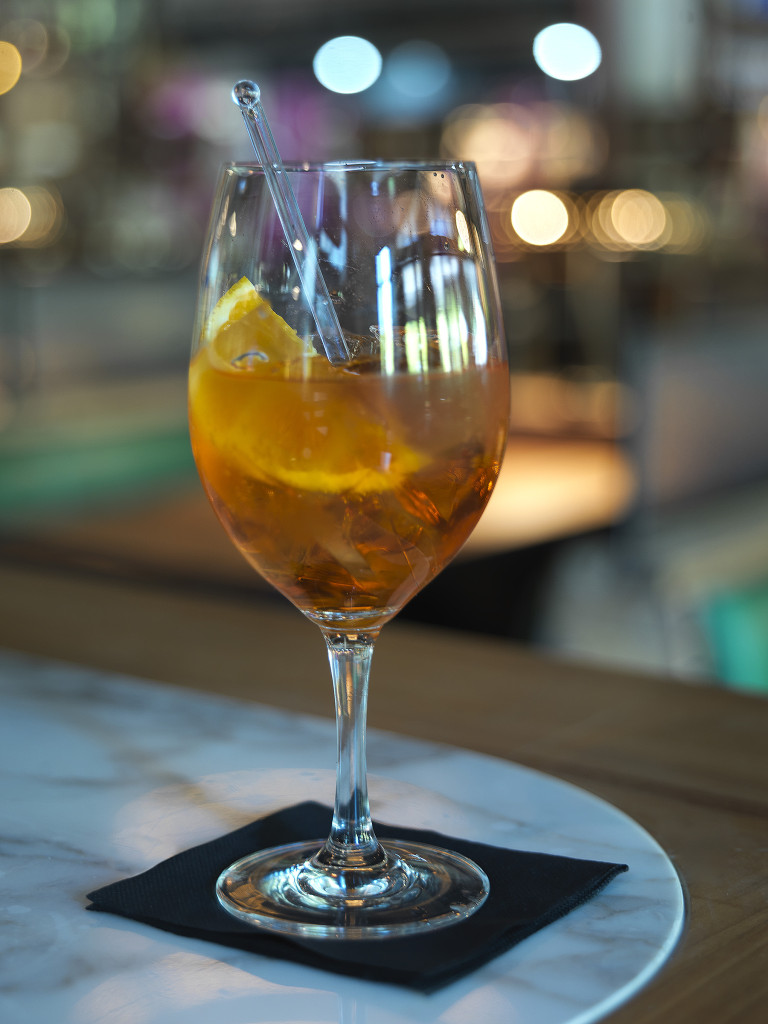 Aperol Spritz at Jamie's Italian Canberra