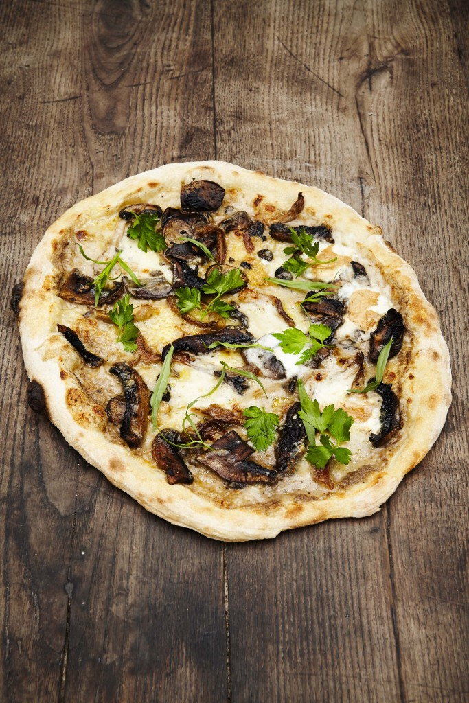 Funghi misti pizza at Jamie's Italian Canberra