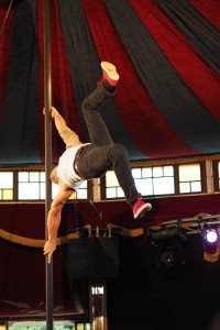 La Clique - in the Famous Spiegeltent at Canberra Theatre.