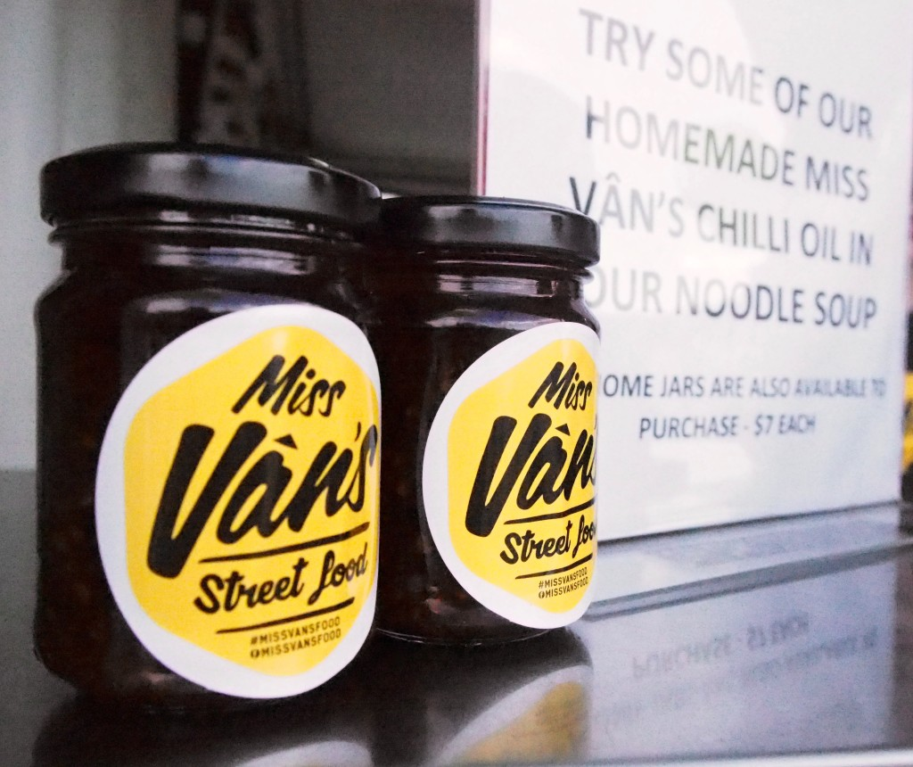Two bottles of Miss Vans - Chilli Oil