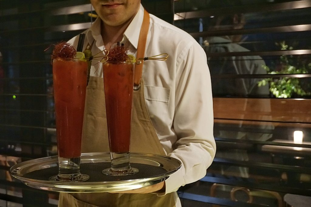 'Tommy's Bloody Mary' - a timeless cocktail spun with truffle oil