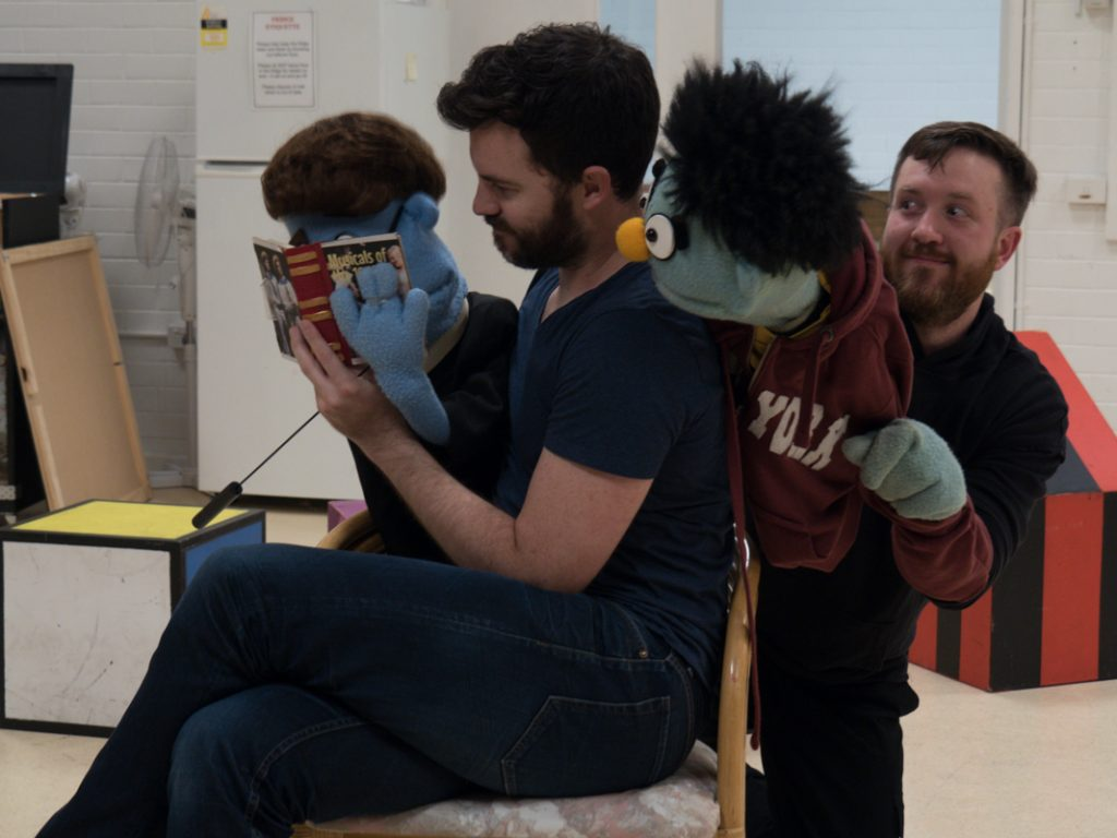 The Puppets have a familiar Sesame Street feel