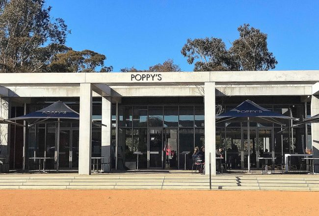 Poppy's Café at the Australian War Memorial