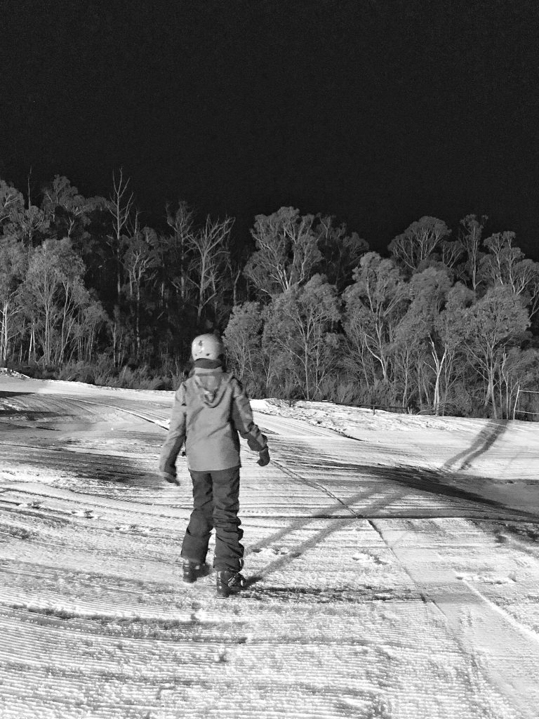 Ready for night skiing at Corin Forest