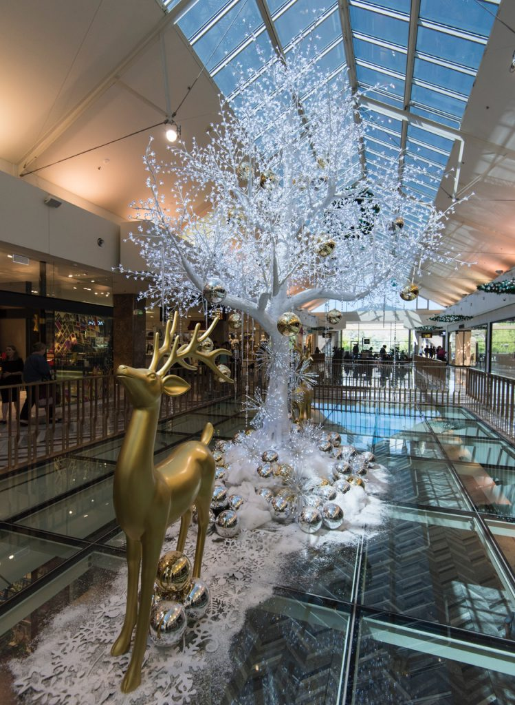 The festive season is on at the Canberra Centre (image courtesy of Canberra Centre)