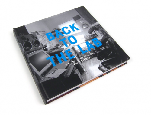 'BACK TO THE LAB': Coffee table book documents Hip Hop Home Studios.