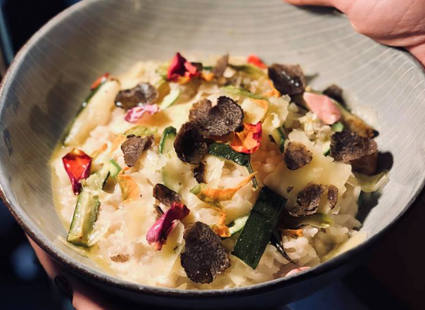 Truffled Risotto. Image supplied