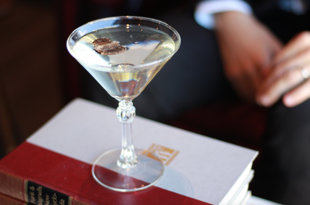 First Edition's very own Truffle Martini. Image supplied