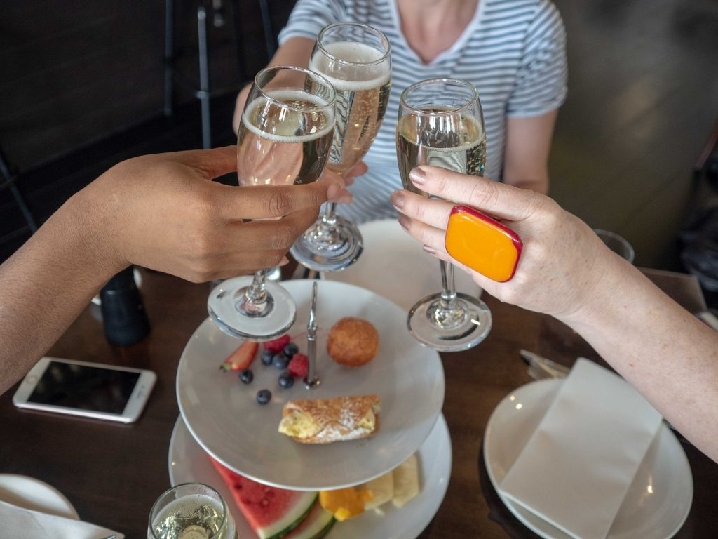 The bottomless brunch is a great way to catch up with friends
