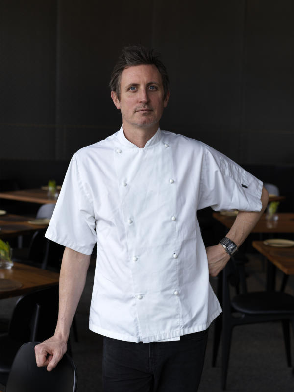Aubergine's Ben Willis will mentor the Young Chefs as they develop their own culinary style for the Young Chefs Lunch - Photo Provided