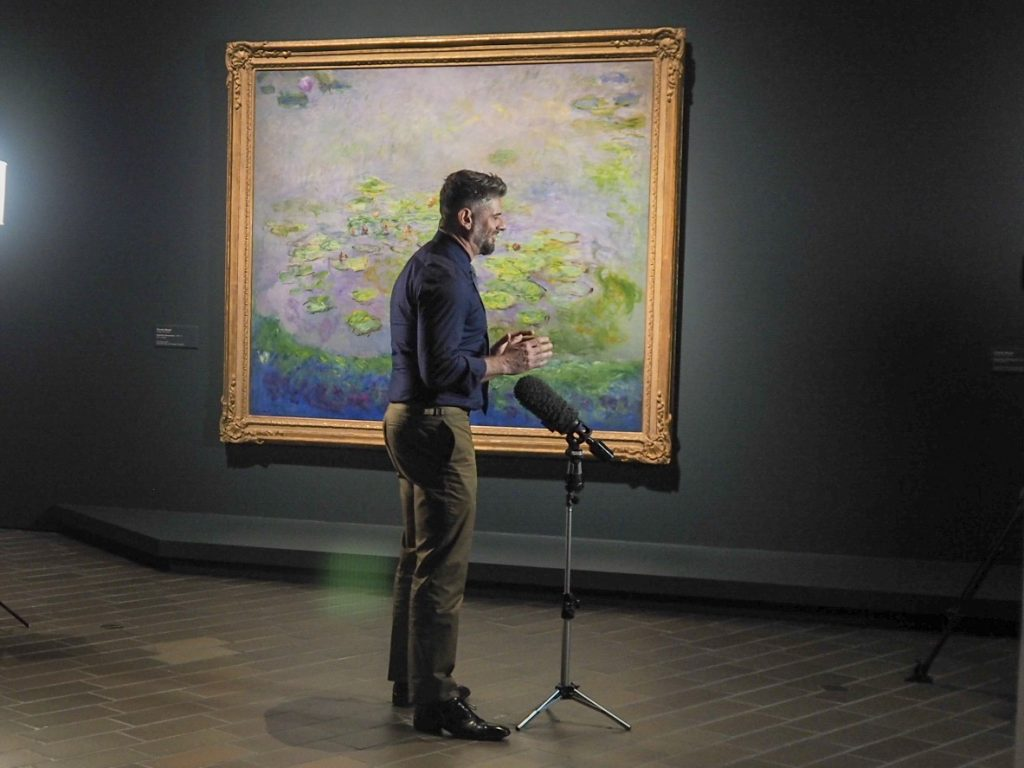 'We are able to tell the story of where Impressionism started', Nick Mitzevich