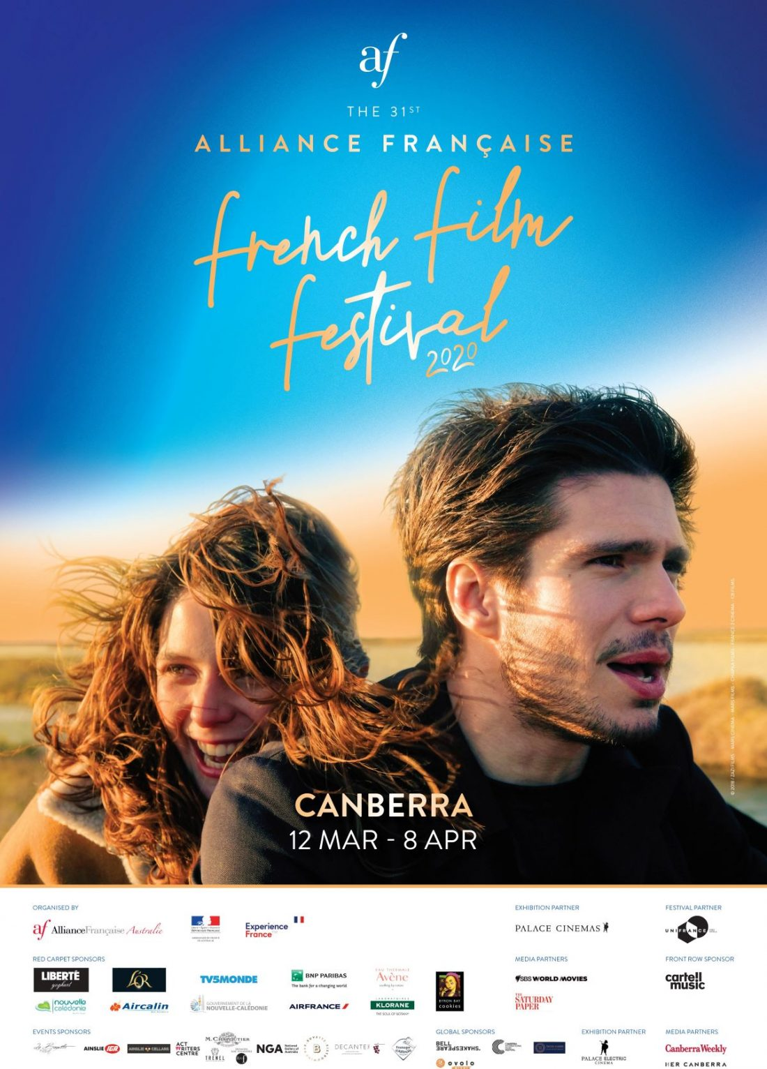 The 2020 Alliance Francaise Film Festival is back to Palace Cinemas canberra and we've selected our top 5 must-see films
