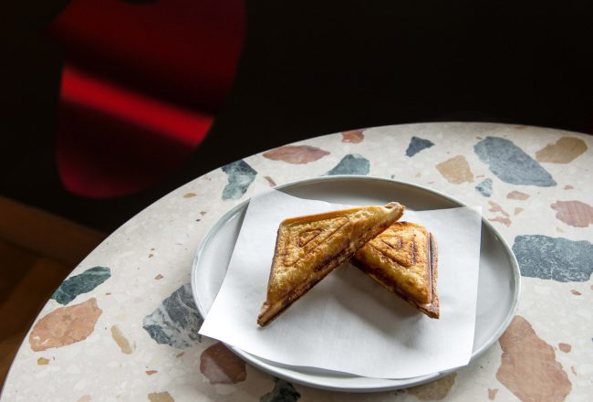 Monster Mash - Yabby Jaffle -photo supplied by Good Food Month